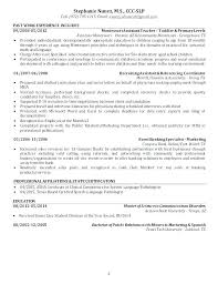 Sample Occupational Therapy Resume Physical Therapy Resume Examples ...