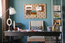 whiteboard for home office. Diy Whiteboard For A Contemporary Home Office With Floor Lamp And By Sanctuary Interiors
