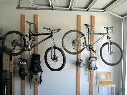 cool bike rack for garage diy bicycle