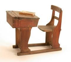 school desk victorian 20th century original object vintage wood office chair restoration hardware