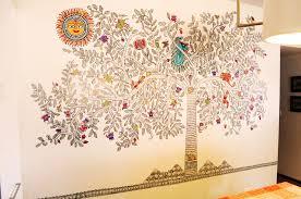 Small Picture Consult Terracotta wall murals Mata Ni Pachedi Madhubani