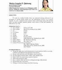 Sample Nurse Resume Skills Registered Objective Nursing Student ...