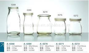 milk glass bottles yogurt cute jars small with lids glassware ikea
