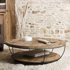 round wooden coffee table round coffee