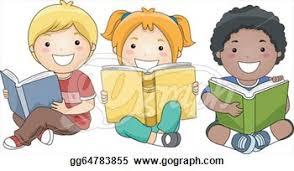 Image result for children reading clip art