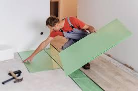 best soundproof underlayment for laminate or hardwood flooring