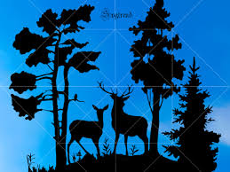 Whether you're a global ad agency or a freelance graphic designer, we have the vector graphics to make your project come to life. Deer Svg Deer Vector Deer Logo Animals Svg File Double Deer In The Forest Svg Vector Graphics Deers Svg Design Animals Vector File Buy T Shirt Designs