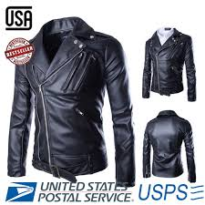 mens winter negan leather jacket walking dead jeffrey dean morgan black coat 52 98 usd free