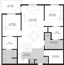 2 bedroom den suite
