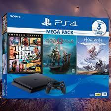Máy chơi game Sony PS4 Slim 1TB Mega2 CUH-2218B MEGA2 - Shop bán  PlayStation 5