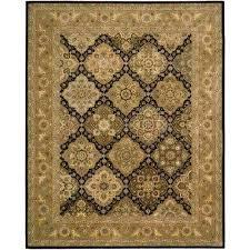 2000 black 8 ft x 10 ft area rug