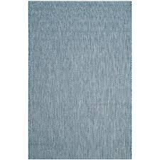 safavieh courtyard navy gray 5 ft x 8 ft indoor outdoor area rug cy8022 36821 5 the home depot