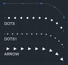 This tutorial shows how to created dotted line in autocad step by step from scratch. Cad Forum Dotted And Arrow Linetypes