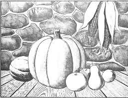 pumpkin drawing with shading. 06-pumpkin-harvest-picture pumpkin drawing with shading