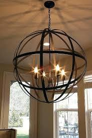 frightening veranda round chandelier pottery barn photo design