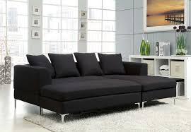black fabric sectional sofas. Beautiful Fabric Homelegance Zola Sectional Sofa Set  Black LinenLike Fabric With Sofas