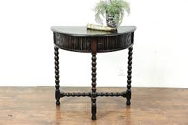 half round table with mirror brown console table best of console table console table with mirror