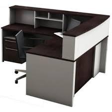 office reception desk furniture. 5 Piece L-Shape Reception Desk Suite Set Office Furniture