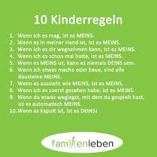 Bild 6 Schöne Sprüche Zum Nachdenken Kinder Regeln