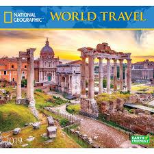 Travel Calendar World Travel Ng 2019 Wall Calendar Calendars Com Calendars Com