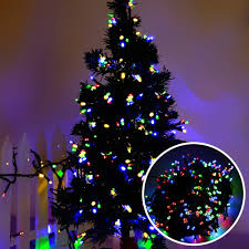 String Light Outdoor Christmas Tree Us 3 99 30 Off Foxanon Led String Light Garland Rgb Christmas Tree Fairy Light 10m 100led Eu Plug Courtyard Wedding Holiday Party Outdoor Decor In
