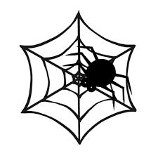 蜘蛛の巣のイラスト かわいいフリー素材が無料のイラストレイン