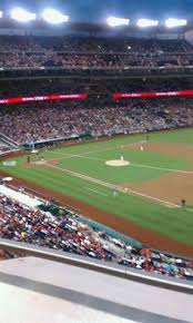 Nationals Stadium Chart Nationals Park Interactive Seating Chart Cool Seating