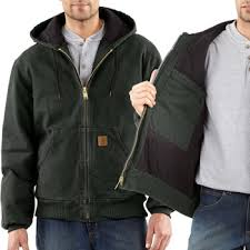 Carhartt Sandstone Active Jacket Quilted Flannel Lined - MOSS ... & Carhartt Sandstone Active Jacket Quilted Flannel Lined - MOSS GREEN Adamdwight.com