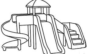 Fun Playground Coloring Pages Coloring Pages