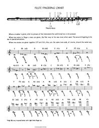 Flute Fingering Chart Pdf Format E Database Org