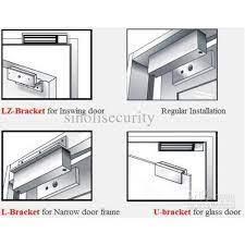 standard aluminium brackets for em