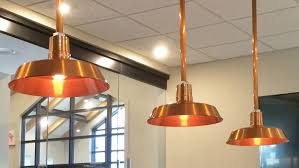 it was important to have a real copper light fixture produced in north america
