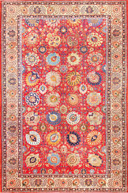 Antique Persian Tabriz Rug Country of Origin / Rug type: Persian Rug, Circa  Date: 1920 12 ft 10 in x 19 ft 6 in m x m)