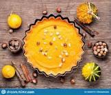autumn pumpkin hazelnut pie