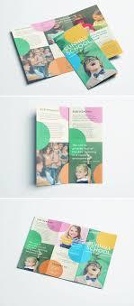 school brochure design ideas colorful school brochure tri fold template school