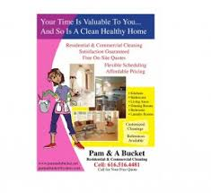 Residential House Cleaning Business Flyer Examples Samples