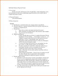 Business Proposals Format Impression Representation 7 Proposal ...
