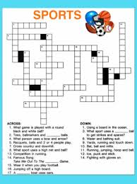 The free crossword maker is a puzzle maker to create your own crossword puzzles or one of the many created puzzles. Sports Crossword Puzzle