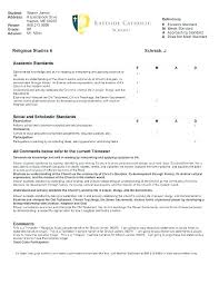 Student Report Card Template Old Report Card Template