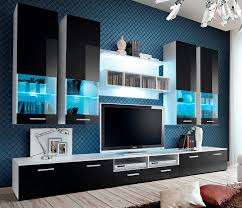 modern tv wall unit entertainment