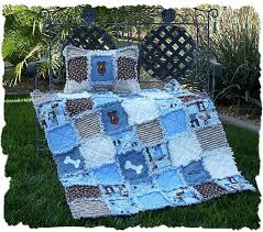 Puppy Rag Quilt & Pillow : AccuQuilt & image Adamdwight.com