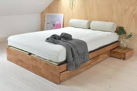 oak platform bed. Perfect Oak With Oak Platform Bed N