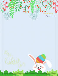 Easter Template Easter Stationary Magdalene Project Org