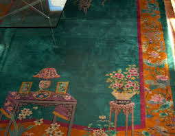 color of the year 2016 chinese art deco rug with emerald green field or background