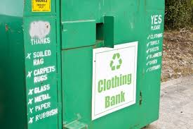 trying to recycle or donate your old clothing check out this quick guide on what