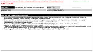 Upscale Security Officer Job Descriptions