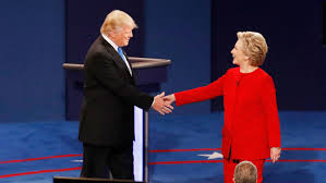 Image result for trump/clinton debate
