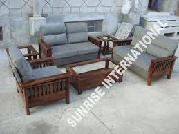 contemporary wood sofa. Wooden Sofa Sets \u0026 L Shade Set Contemporary Wood