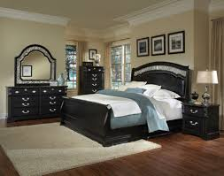 Monticello Bedroom Furniture Shop Furniture Of America Laurelle Black Full Sleigh Bed At Lowes