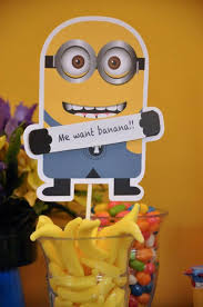 Minions Birthday Party Cake Decor